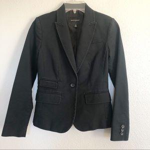 Banana Republic Black Blazer Jacket Sz 00P